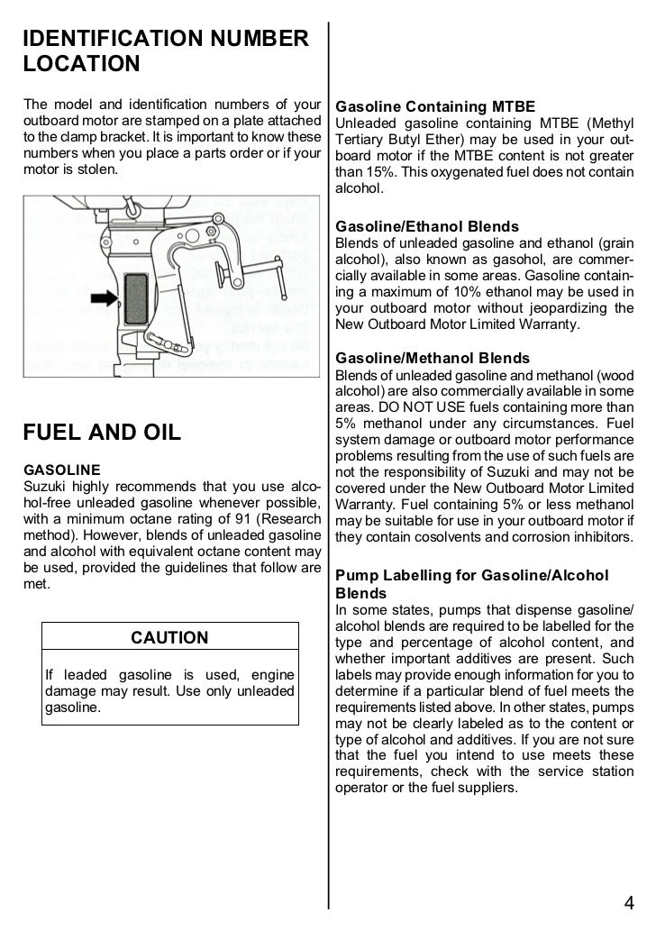 suzuki df2 5 operating manual 2 rh slideshare net suzuki outboard owners manual suzuki outboard repair manual pdf