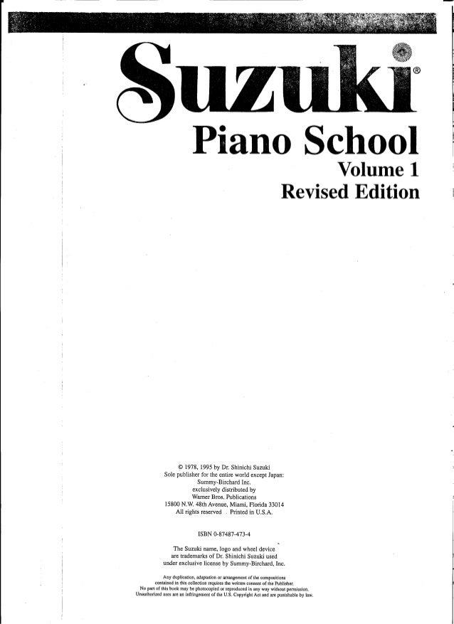 Suzuki Piano School Volume  Cd Download
