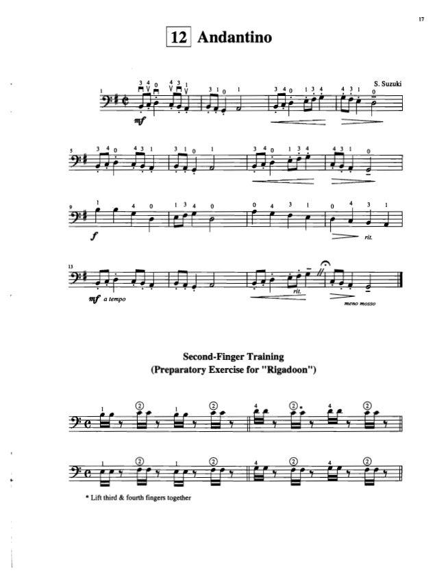 Suzuki cello school vol.1