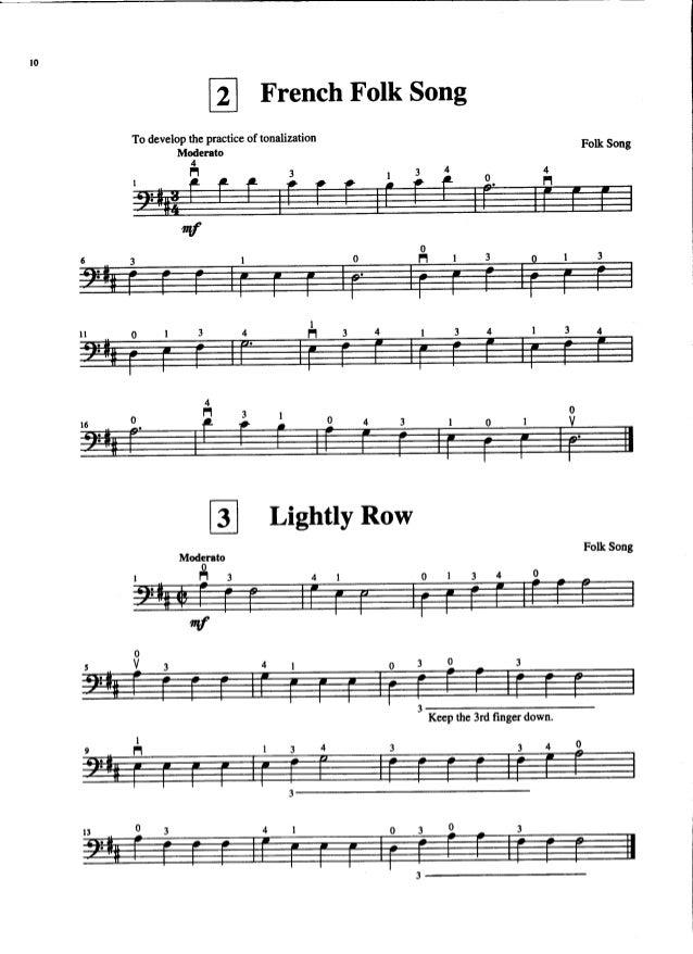 Suzuki Book  Song