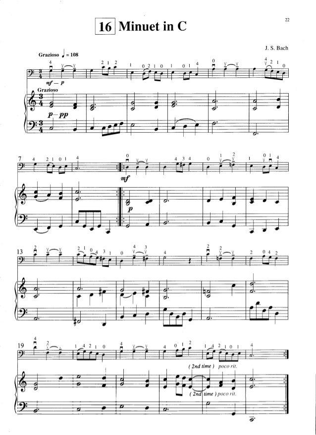 Minuet In G Suzuki Piano