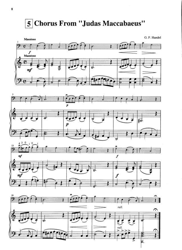 Suzuki Violin Book  Judas Maccabeus