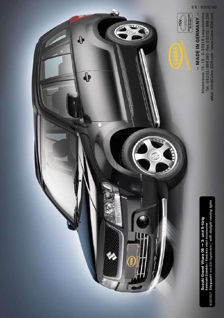 suzuki grand vitara led 05 cobra chez autoprestige 4x4. Black Bedroom Furniture Sets. Home Design Ideas