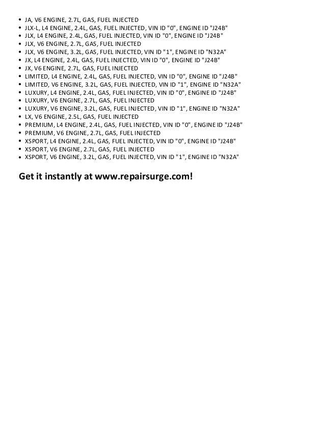 suzuki grand vitara repair manual 1999 2011 rh slideshare net Truck Manual Parts Manual