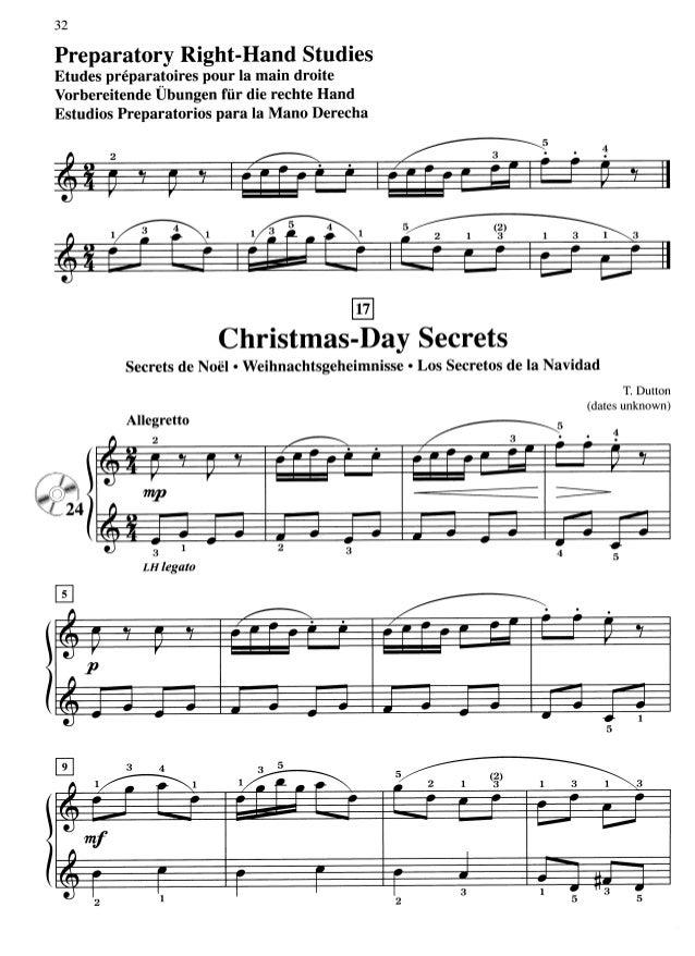 Suzuki Piano Christmas Day Secrets