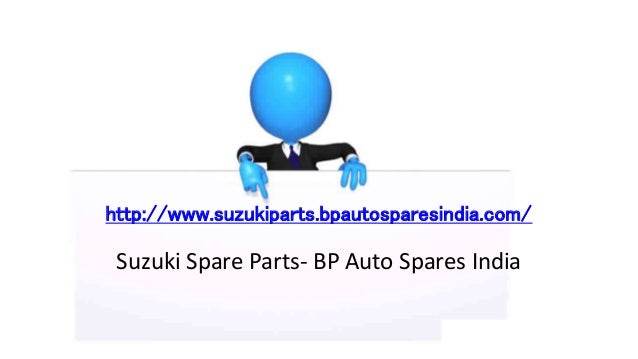 Buy Genuine Suzuki Spare Parts