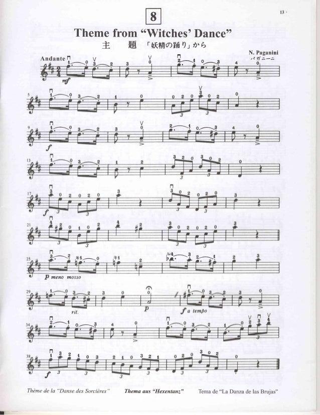 Violin Suzuki Book  Waltz