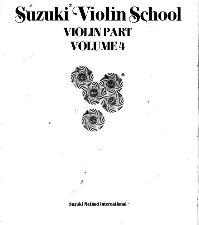 Suzuki violin method   vol 04