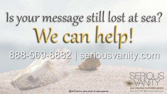 Is your message still lost at sea?   F ( F ( / '  «3«, «;—: J@9—«3<5«5z I 'f~~)l'| OLl'fi/9-_IlIlIy Lorri  ERI US SVANCPTY ...