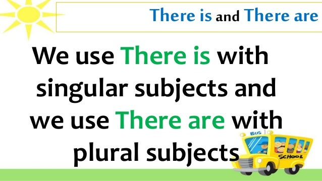 Subject Verb Agreement 01