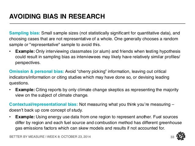 9 types of research bias and how to avoid them