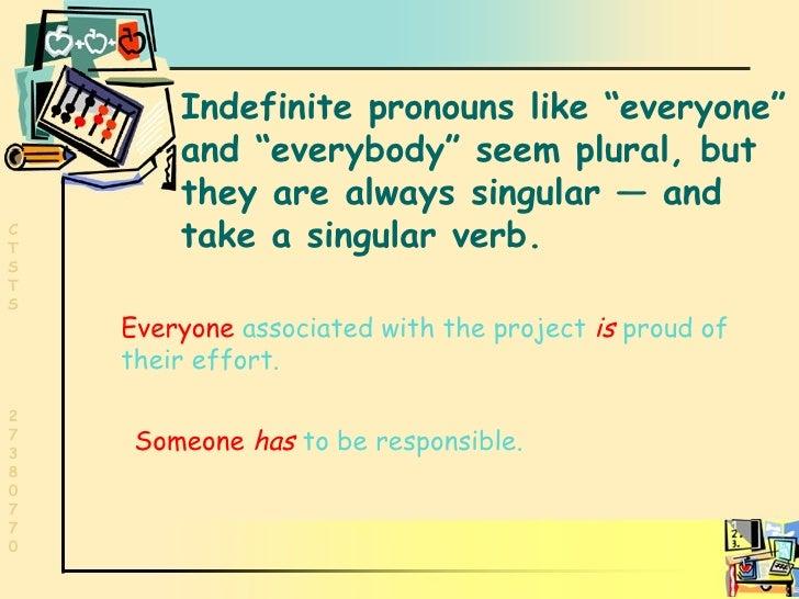 Grammar Subject Verb Agreement