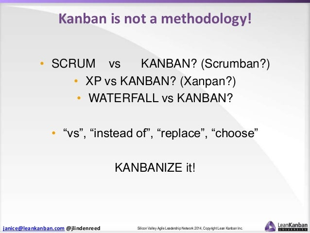 Whats new in kanban the state of kanbanland silicon for Kanban waterfall