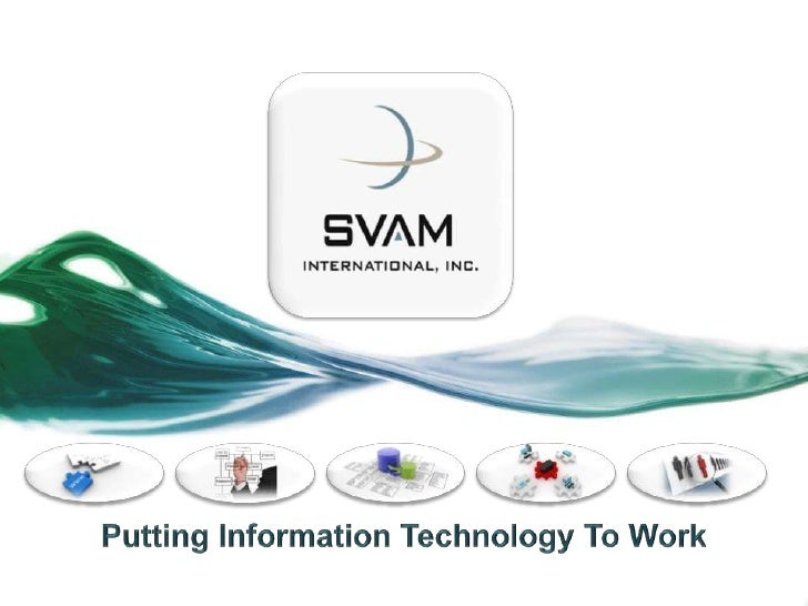 Putting Information Technology To Work<br />