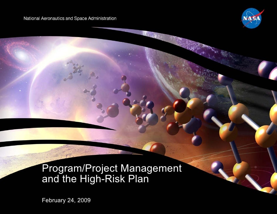 Program/Project Managementand the High-Risk PlanFebruary 24, 2009