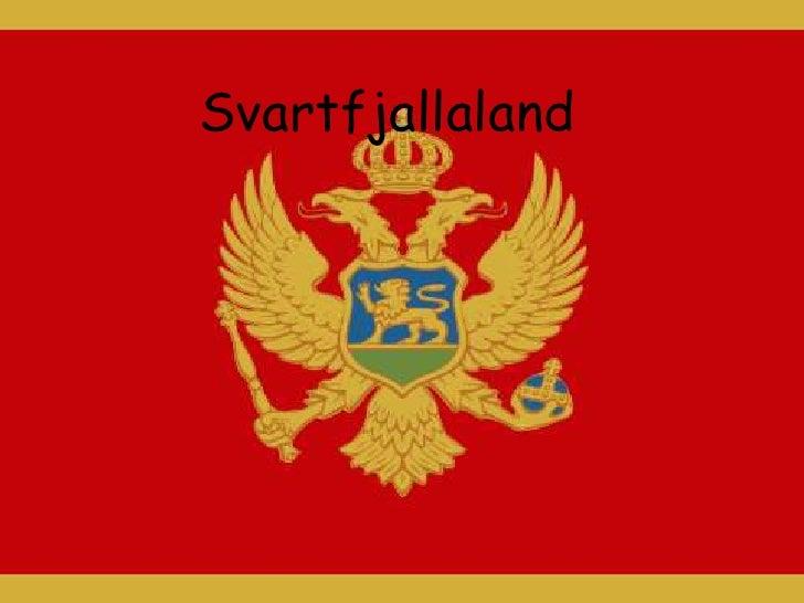 Svartfjallaland<br />