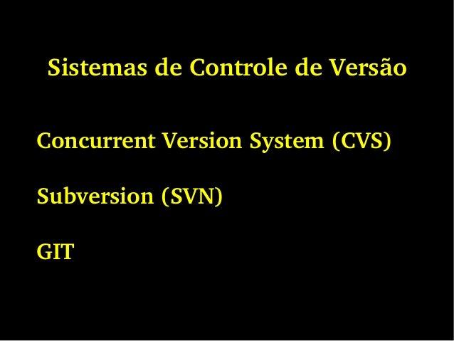 sistema de controle de vers u00e3o