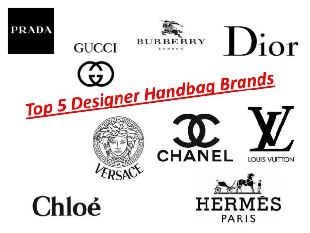 Top 5 designer handbags brands for French couture brands