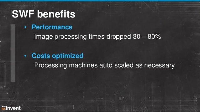 SWF benefits • Costs/utilization Consistent architecture/servers all customers, server utilization more balanced • Simplif...