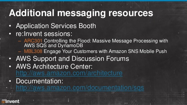 Speed and Reliability at Any Scale: Amazon SQS and Database Services (SVC206) | AWS re:Invent 2013