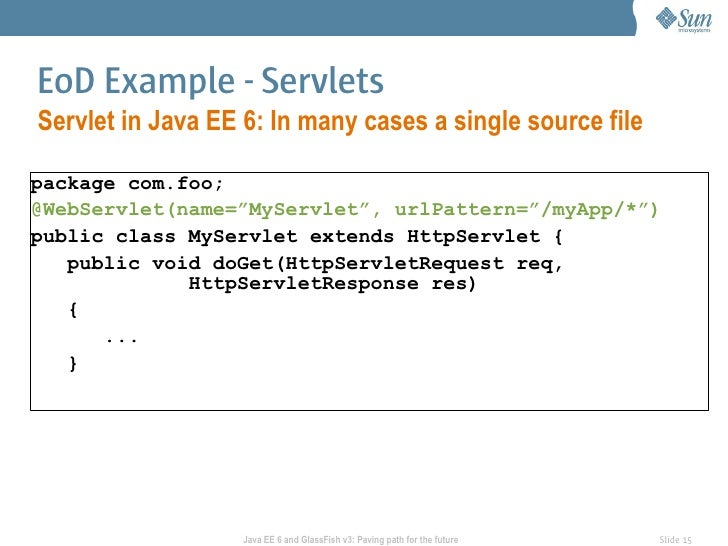 Java Ee 6 And Glassfish V3 Paving The Path For Future