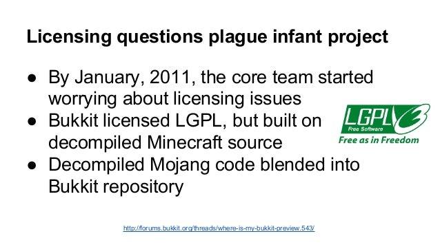 Mojang hires Bukkit team  ● Feb 28, 2012 - Mojang hires core Bukkit team to work  on official modding API  ● Mojang offers...