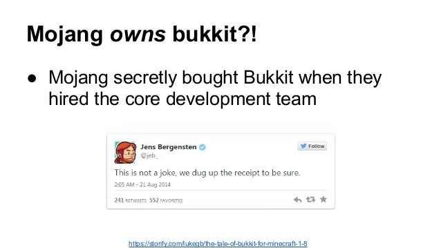 Gone from the internet Kicking the Bukkit: Anatomy of an open source