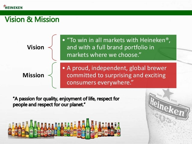 heineken strategy Going out for a beer may be a spontaneous event, but selling beer is not,  according to john doolan, vice president, northeast sales for heineken usa in  white.
