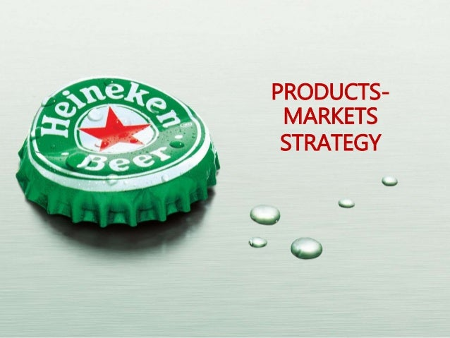 PRODUCTS- MARKETS STRATEGY