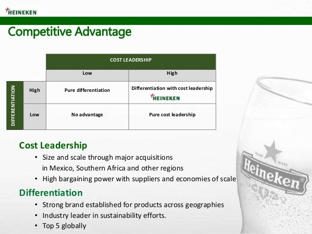 Cost Leadership • Size and scale through major acquisitions in Mexico, Southern Africa and other regions • High bargaining...