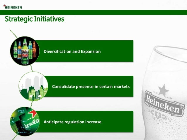 Strategic Initiatives Diversification and Expansion Consolidate presence in certain markets Anticipate regulation increase