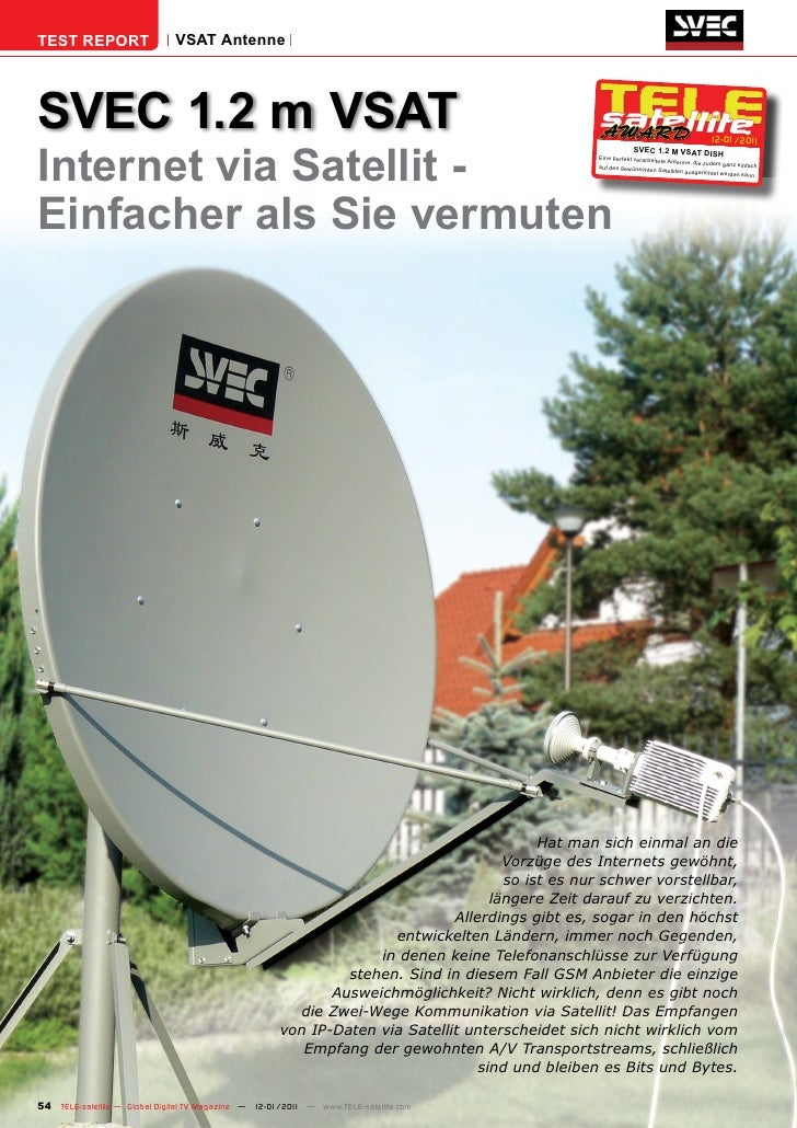 TEST REPORT                   VSAT AntenneSVEC 1.2 m VSAT                                                                 ...