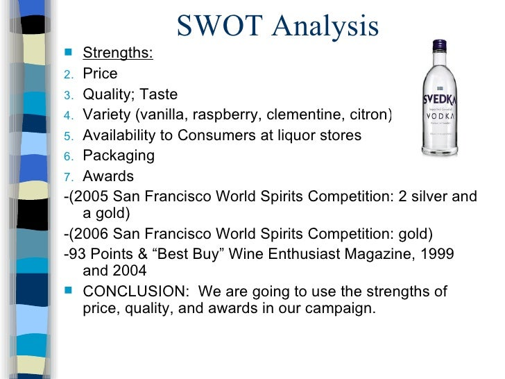 svedka case study analysis