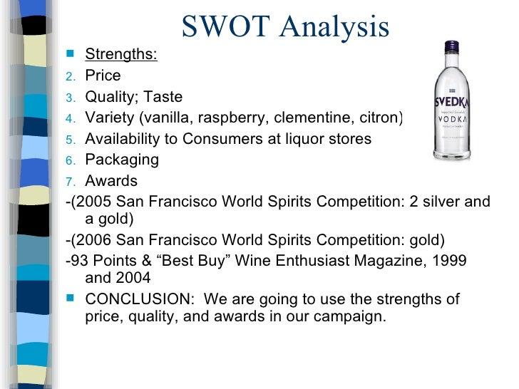 svedka vodka case study analysis