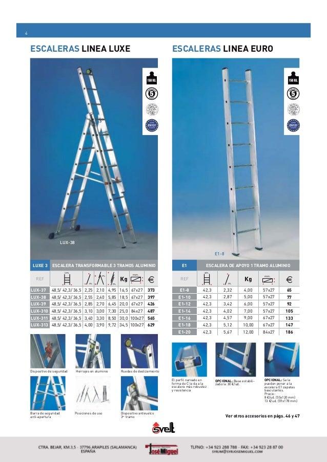 Escaleras y andamios de aluminio - Escalera andamio aluminio ...