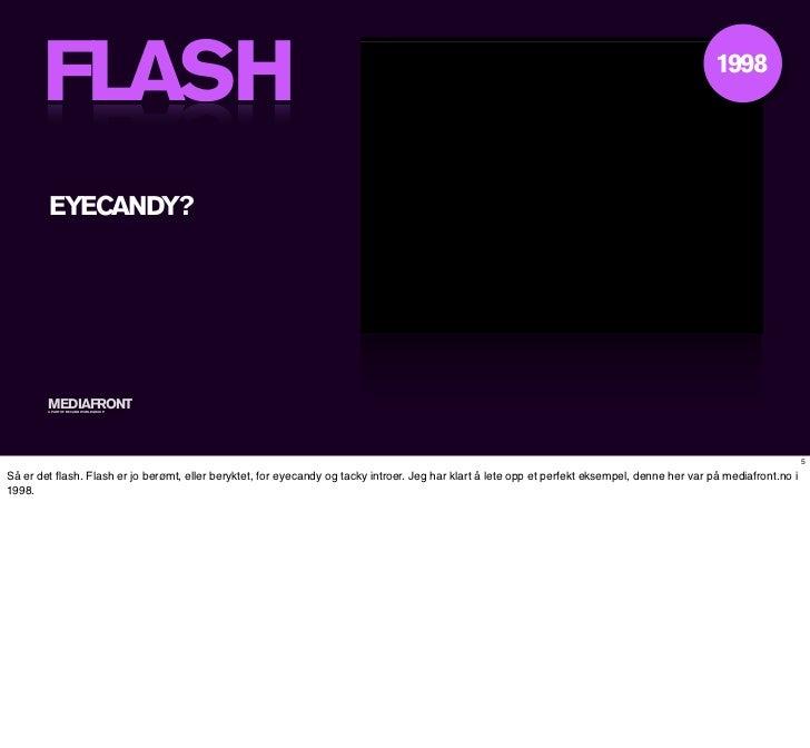 FLASH vs HTML5