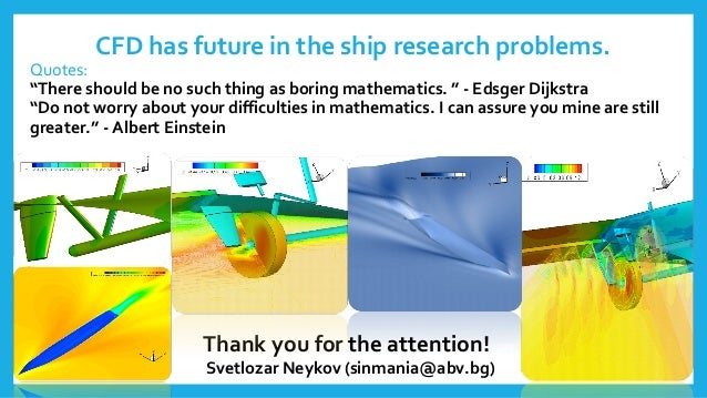 numerical investigation of flow around an appended ship