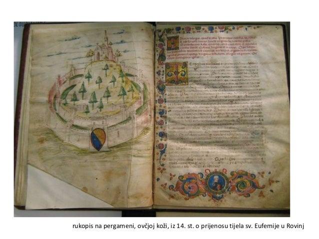 Pulski statut iz 1500.g., čuva se u Državnom arhivu u Pazinu
