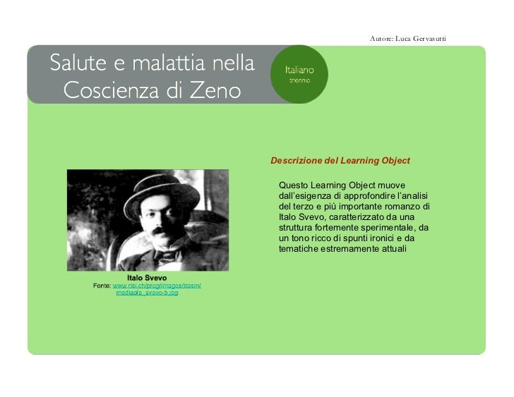 Autore: Luca GervasuttiDescrizione del Learning Object Questo Learning Object muove dall'esigenza di approfondire l'analis...