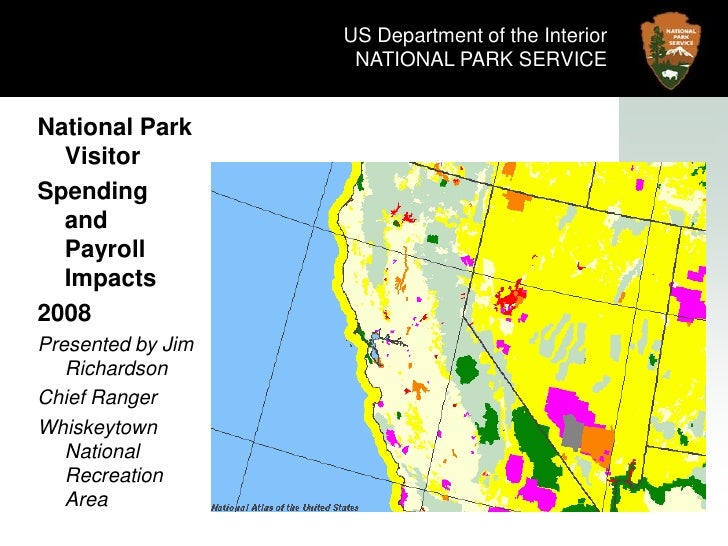 US Department of the Interior<br />NATIONAL PARK SERVICE<br />National Park Visitor<br />Spending and Payroll Impacts<br /...