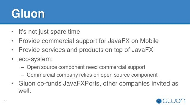 JavaFX on Mobile (by Johan Vos)