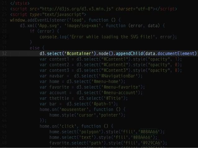 SVGをつかったプロトタイプ制作