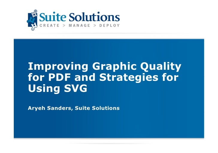 Svg and graphics