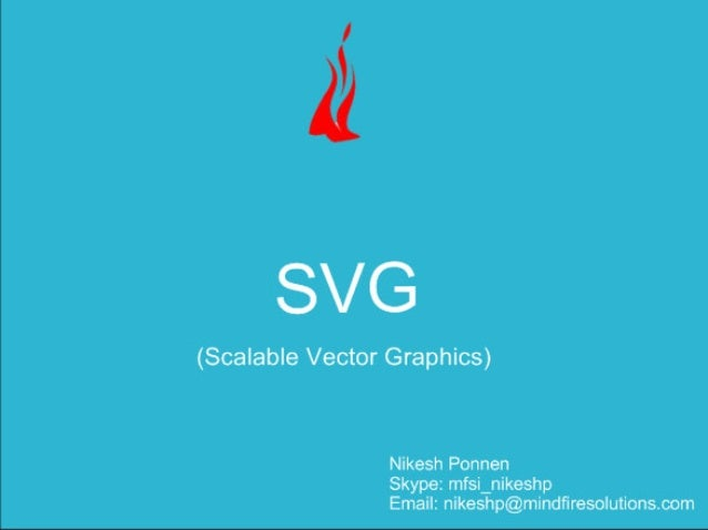 SVG [Scalable Vector Graphics]
