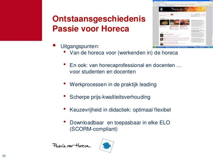 """Passie voor horeca        Digitaal leermateriaal          • Video""""s          • Teksten          • Pdf""""s        Zónder re..."""