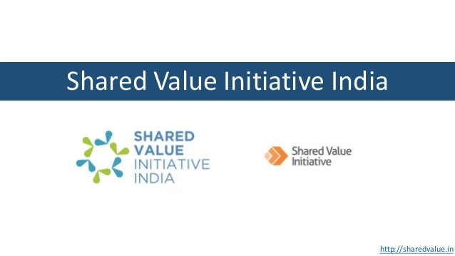Shared	Value	Initiative	India	 http://sharedvalue.in