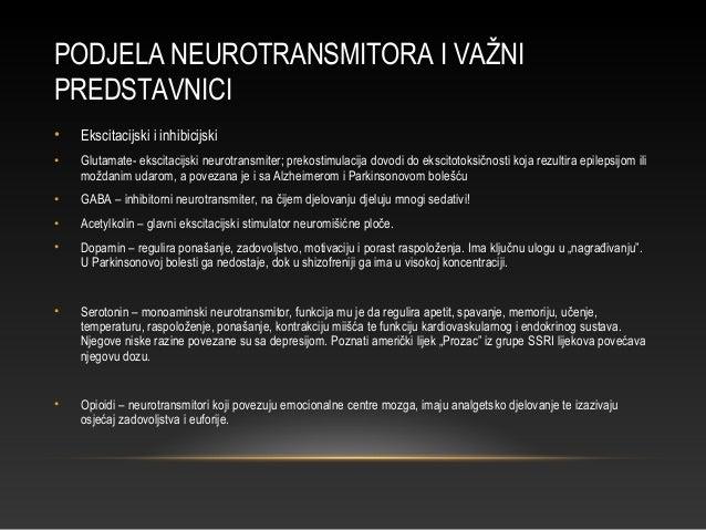 STANICE SERDIŠNJEG ŽIVČANOG SUSTAVA • Živčane stanice – neuroni • Potporne stanice – astrociti, oligodendrociti, ependimal...