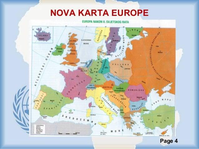 karta evrope posle prvog svetskog rata Svijet nakon drugog svjetskog rata karta evrope posle prvog svetskog rata