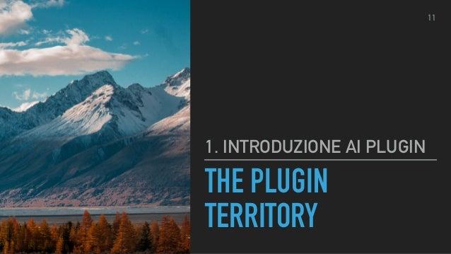 THE PLUGIN TERRITORY FUNCTIONS.PHP Aggiungere funzionalità uniche a un tema. ▸ Supporto Menu ▸ Supporto Barra laterale ▸ S...