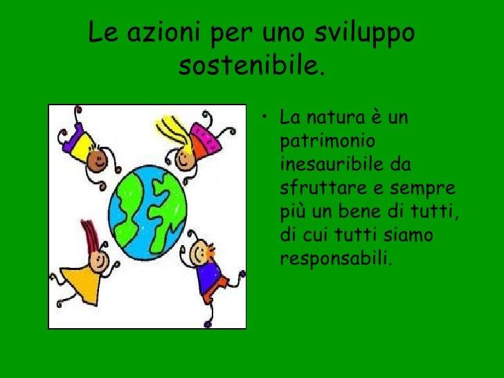 Classroom Design Powerpoint ~ Sviluppo sostenibile
